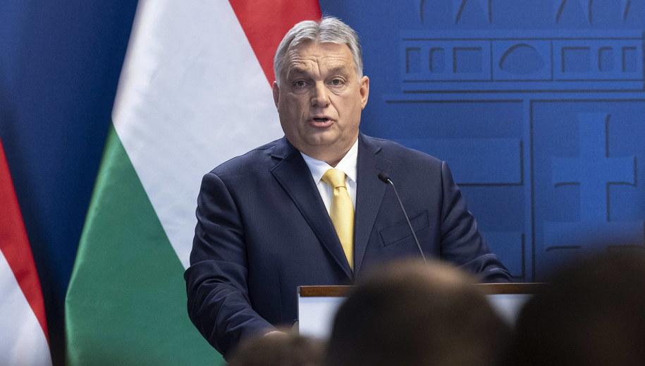 Viktor Orban /ZSOLT SZIGETVARY    /PAP/EPA
