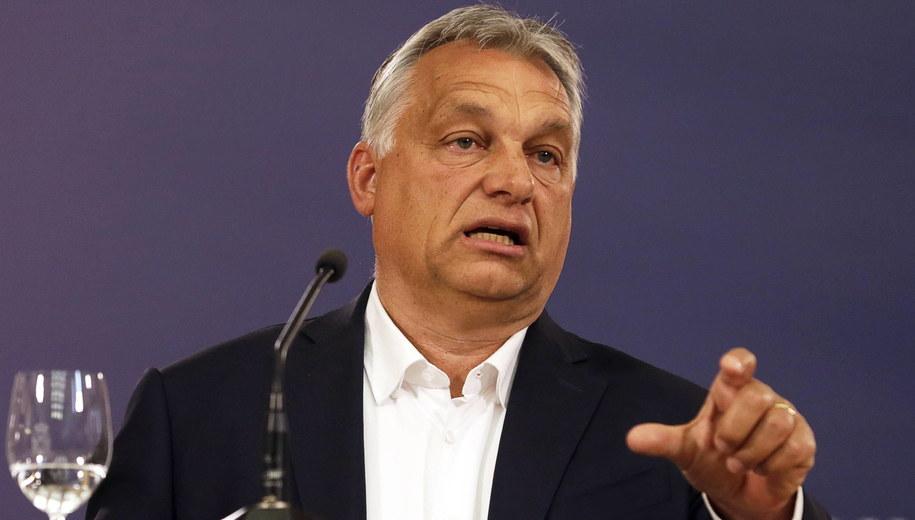 Viktor Orban /EPA/ANDREJ CUKIC /PAP/EPA