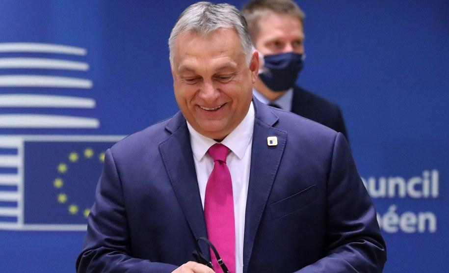Viktor Orban /YVES HERMAN / POOL /PAP/EPA