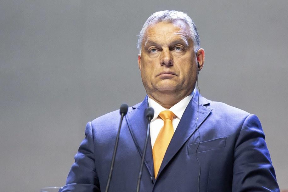 Viktor Orban /Jacek Szydłowski /PAP
