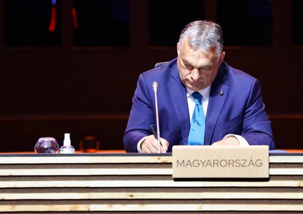 Viktor Orban /Violeta Santos Moura / POOL /PAP/EPA