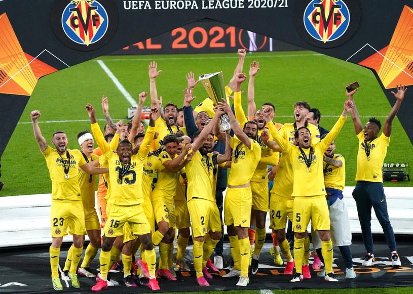 Villarreal triumfatorem Ligi Europy /JANEK SKARZYNSKI/JS /PAP