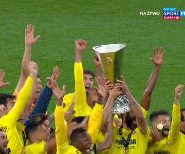 Villarreal zwycięzcą Ligi Europy! ZOBACZ CEREMONIĘ wręczenia pucharu. WIDEO (POLSAT SPORT)