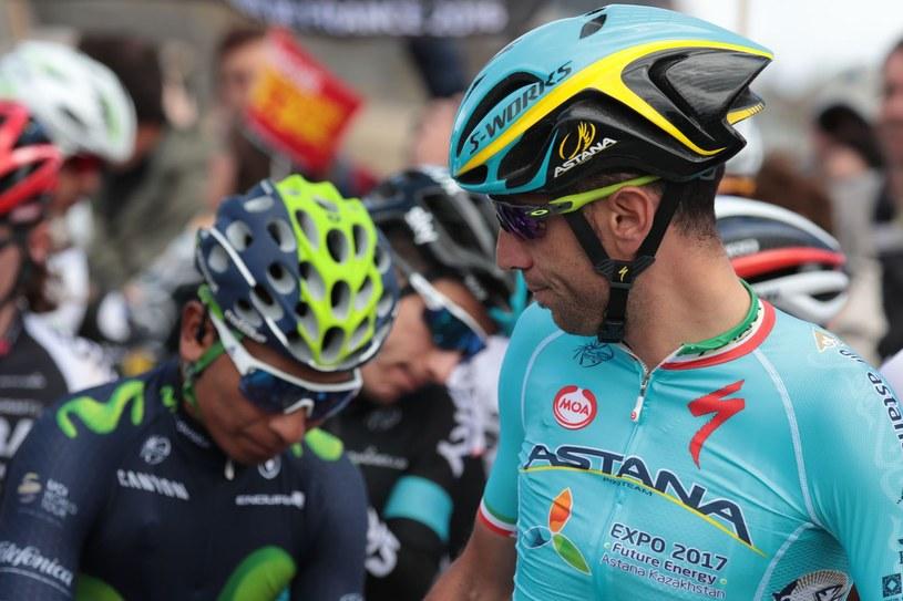 Vincenzo Nibali (z prawej) i Nairo Quintana /AFP
