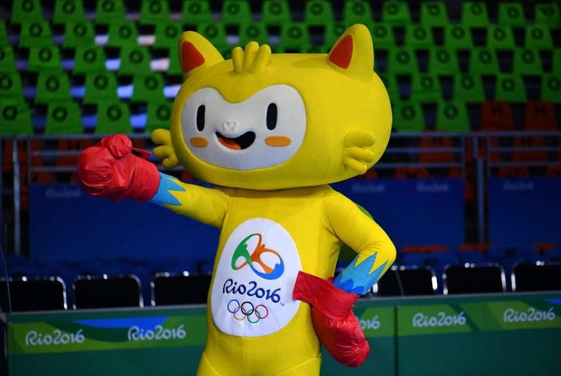 Vinicius, maskotka ostatnich igrzysk w Rio de Janeiro /AFP