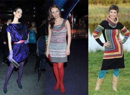 Viola Kołakowska, Ewelina Flinta i Joanna Brodzik wiedzą, co modne tej jesieni /MWMedia