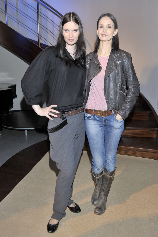 Viola Kołakowska i Karolina Malinowska /Kurnikowski /AKPA