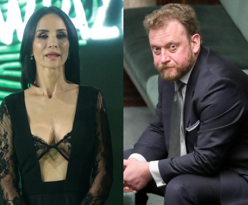 Viola Kołakowska i Łukasz Szumowski /EastNews /East News