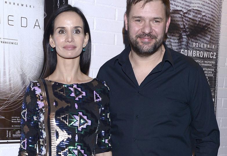 Viola Kołakowska i Tomasz Karolak /Kurnikowski /AKPA