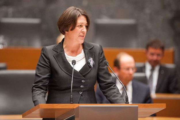 Violeta Bulc, unijna komisarz ds. transportu /fot. Jure Makovec /AFP