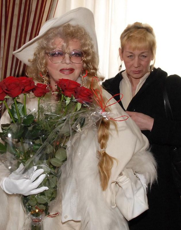 Violetta Villas, Elżbieta Budzyńska - 2007 r. /Miłosz Poloch /Reporter