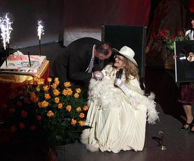 Violetta Villas świętuje na scenie - Kielce, 14 lutego 2011 r.