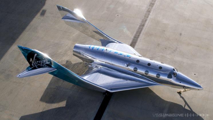 Virgin Galactic przedstawia nowy statek /materiały prasowe