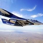 Virgin Galactic przetestuje samolot z napędem rakietowym