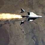 Virgin Galactic - udany suborbitalny lot statku VSS Unity
