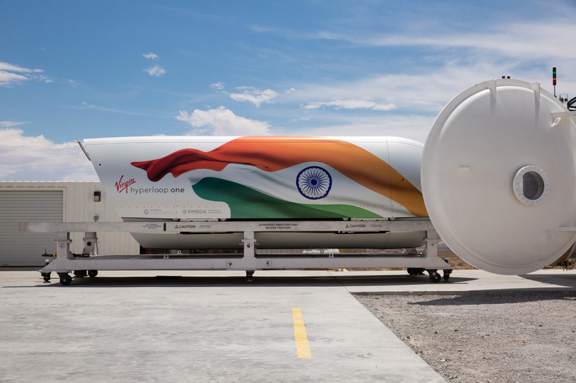 Virgin Hyperloop One /materiały prasowe