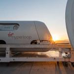 Virgin Hyperloop z sukcesem zakończył pierwsze testy