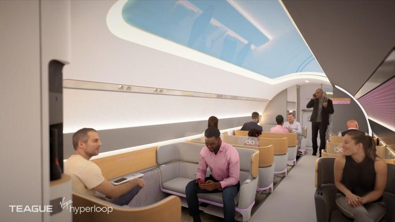 Virgin Hyperloop /materiały prasowe