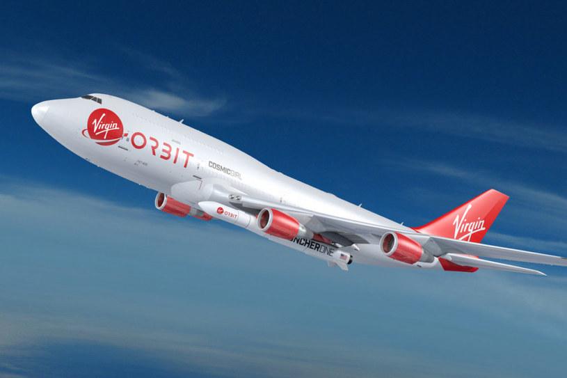 Virgin Orbit z udanym startem /materiały prasowe