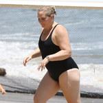 Virginia Giuffre przyłapana na plaży!