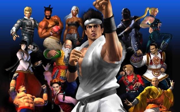 Virtua Fighter 4 - fragment okładki z gry /Informacja prasowa