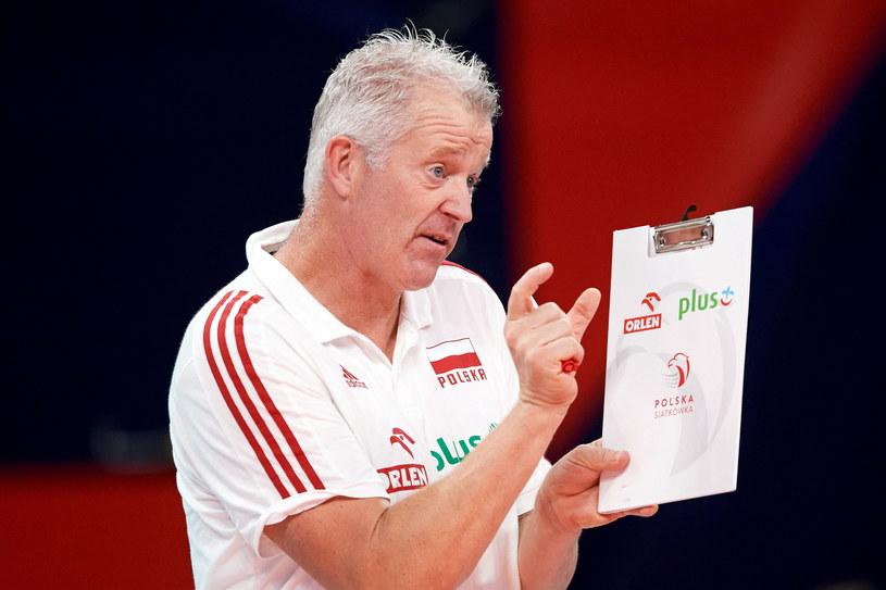 Vital Heynen po raz drugi poprowadzi reprezentację Polski w półfinale ME / PAP/Adam Warżawa /PAP