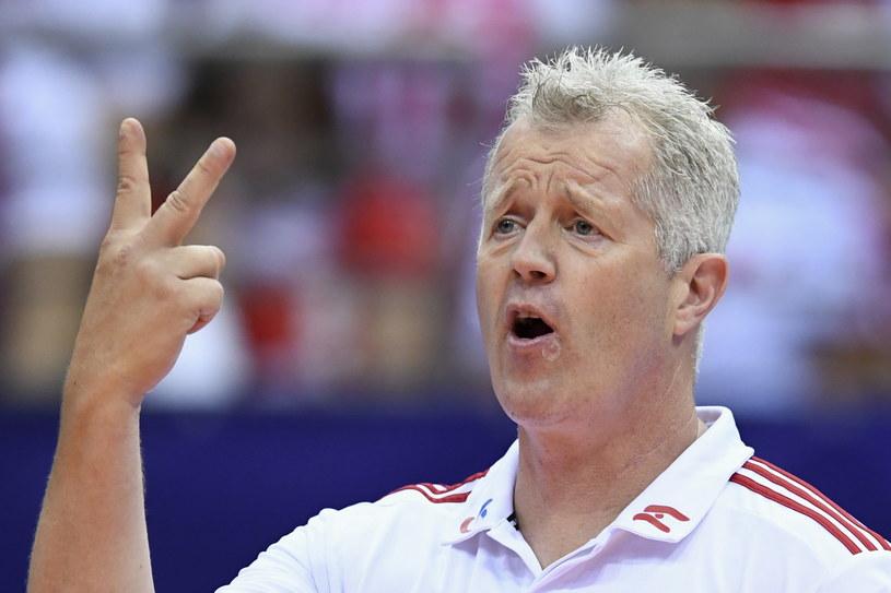 Vital Heynen podczas meczu Polska - Tunezja / Adam Warżawa    /PAP