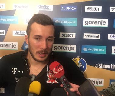 Vive Kielce. Manuel Strlek (Vaszprem) po meczu z Vive. WIDEO