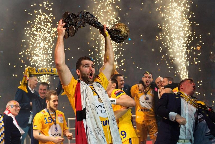 Vive Tauron Kielce świętuje triumf w Lidze Mistrzów /AFP