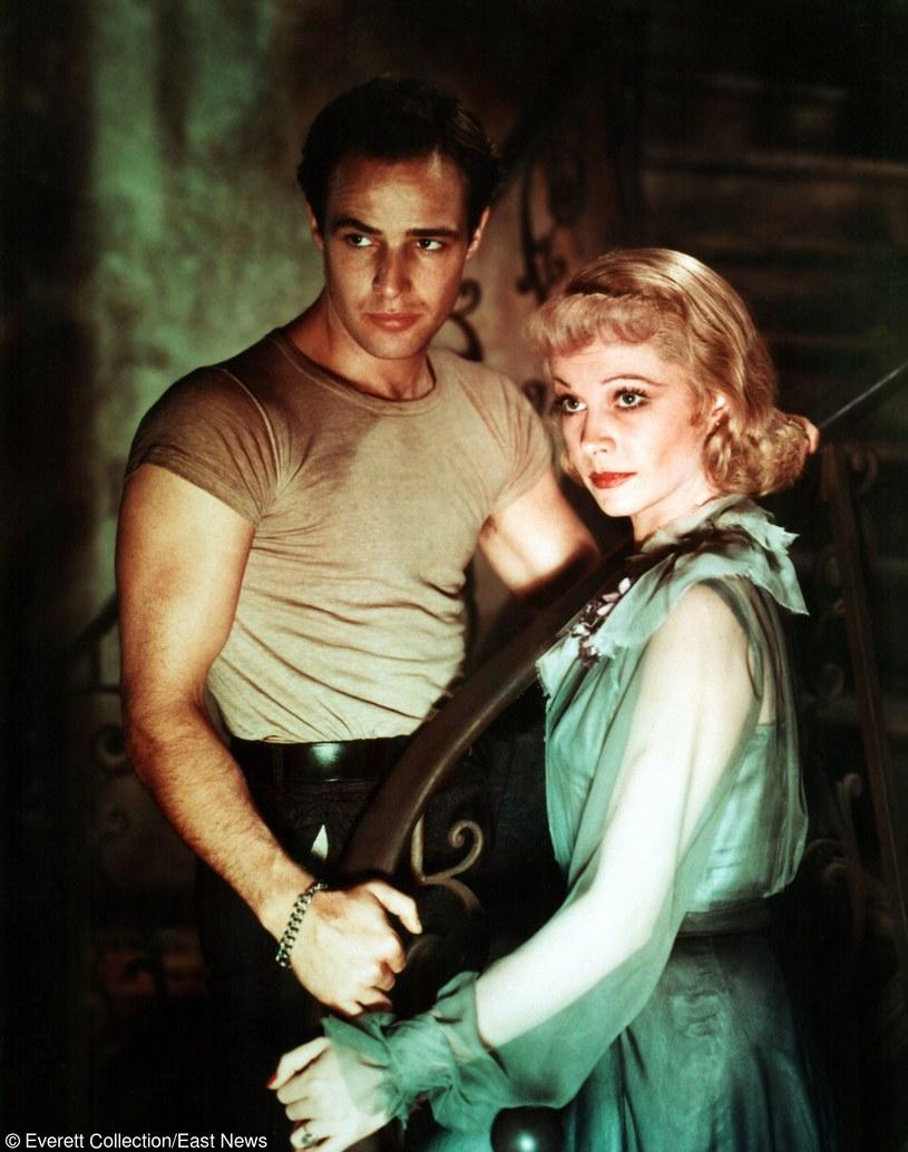 "Vivien Leigh i Marlon Brando w ""Tramwaju zwanym pożądaniem"" /Everett Collection /East News"