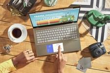 VivoBook S14 iS15 zespecjalnym dodatkowym ekranem