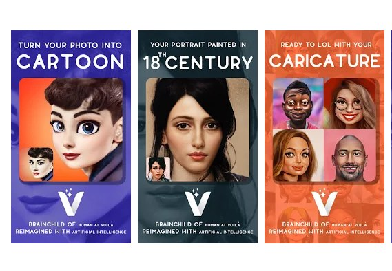 Voilà AI Artist - Photo to Cartoon Face Art Editor /materiały prasowe