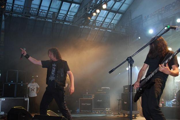 Voivod na Knock Out Festival w Krakowie - fot. Bartosz Donarski /INTERIA.PL