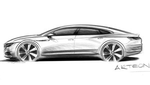 Volkswagen Arteon - następca Phaetona i CC?