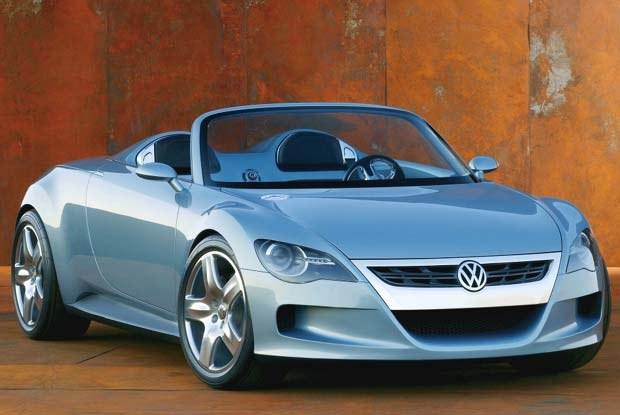Volkswagen Concept R (kliknij) /INTERIA.PL