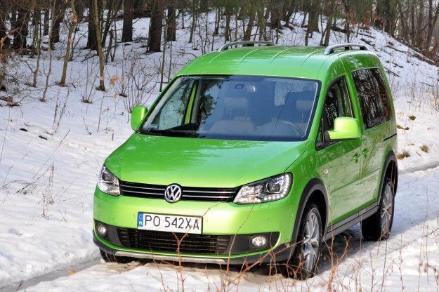 Volkswagen Cross Caddy /INTERIA.PL