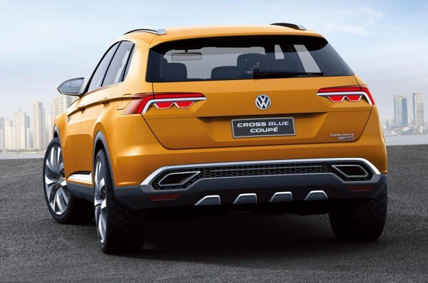 Volkswagen CrossBlue Coupe /