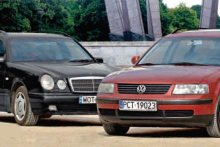 """Volkswagen czy mercedes? /tygodnik """"Motor"""""""