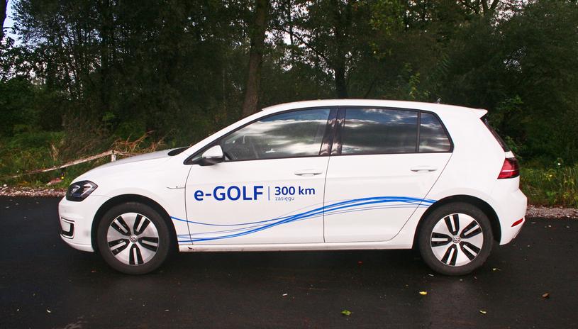 Volkswagen e-Golf /INTERIA.PL