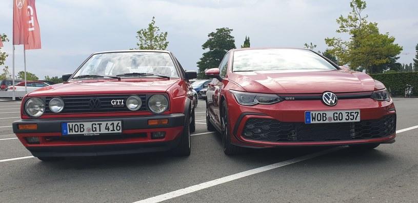 Volkswagen Golf GTI I oraz VIII /INTERIA.PL