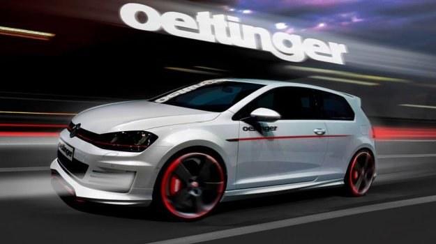 Volkswagen Golf GTI po tuningu firmy Oettinger /Volkswagen