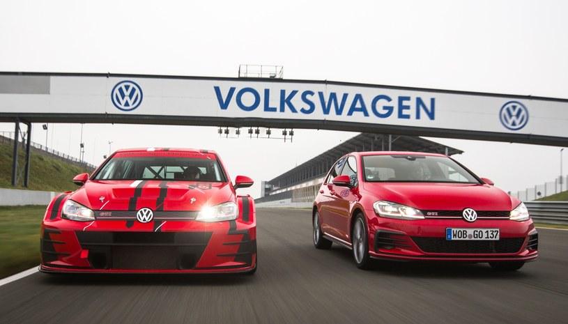 "Volkswagen Golf GTI TCR oraz ""cywilny"" Golf GTI /"