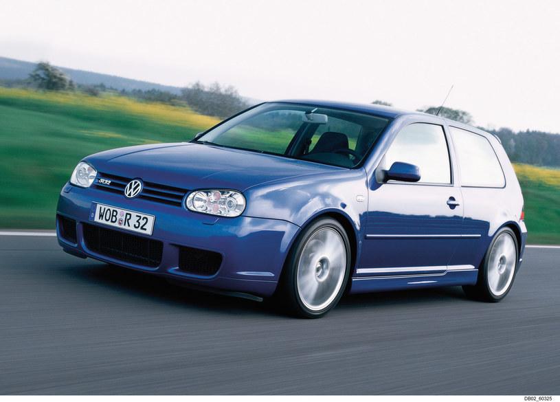 Volkswagen Golf IV R32. W tym aucie debiutowała skrzynia DSG /