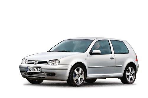 Volkswagen Golf IV z silnikami 1.8 20VT i 2.3 V5 /Motor
