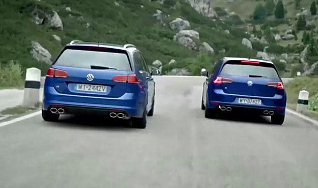 """Volkswagen Golf R - to jest dopiero """"fest drapki"""" wariant /"""