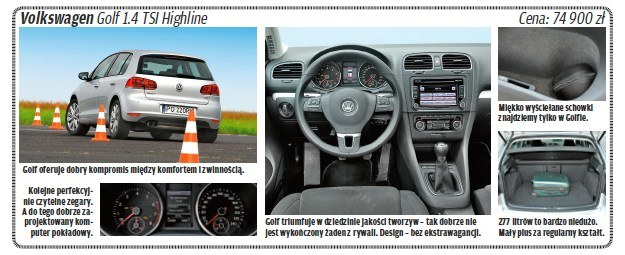 "Volkswagen golf /tygodnik ""Motor"""