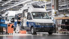 Volkswagen Grand California z Polski na targach Caravans Salon 2021