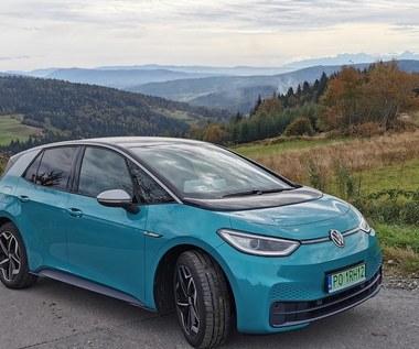 """Volkswagen ID.3 Samochód  bez """"tramwajowej"""" pracy silnika"""