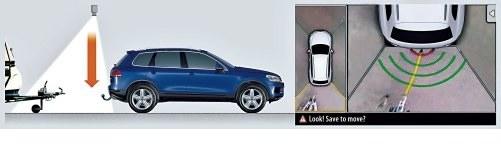 VOLKSWAGEN Naprowadzanie na hak /Volkswagen