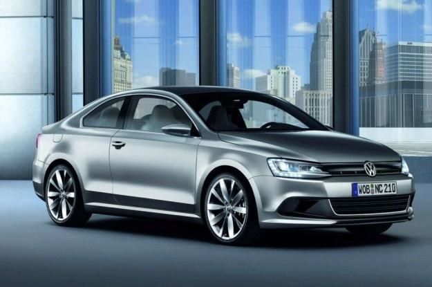 Volkswagen New Compact Coupe Concept z 2010 roku /